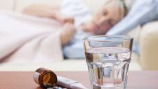 Прием алкоголя при простуде