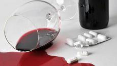 Влияние алкоголя на Грандаксин при совместном употреблении