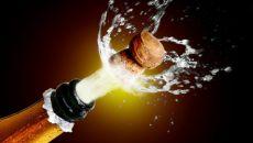 Уровень калорий в шампанском