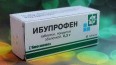 Эффективность Ибупрофена от похмелья