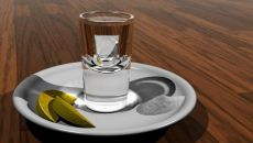 Водка с солью