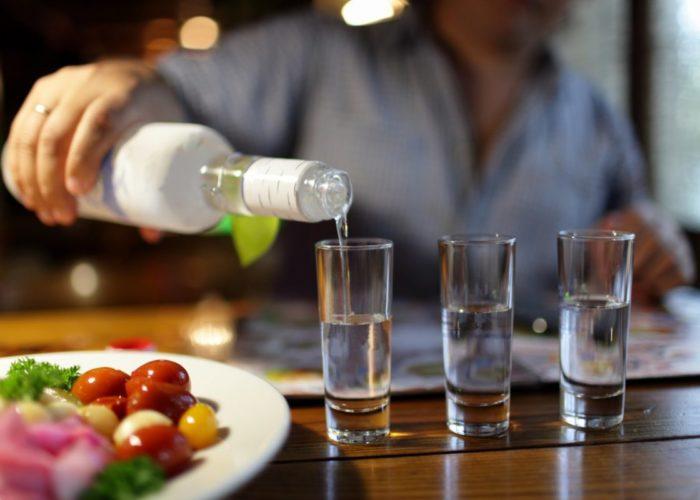 100 граммов хорошей, качественной водки