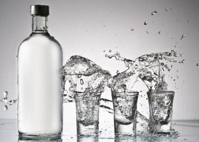 1л водки из этилового или винного спирта