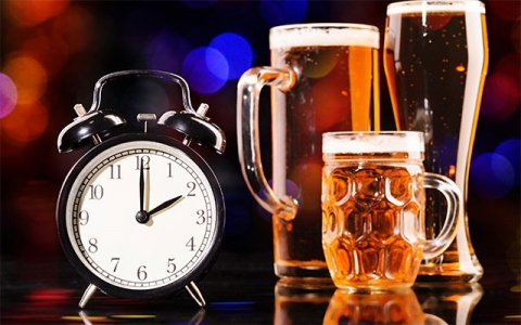 Алкоголь и часы