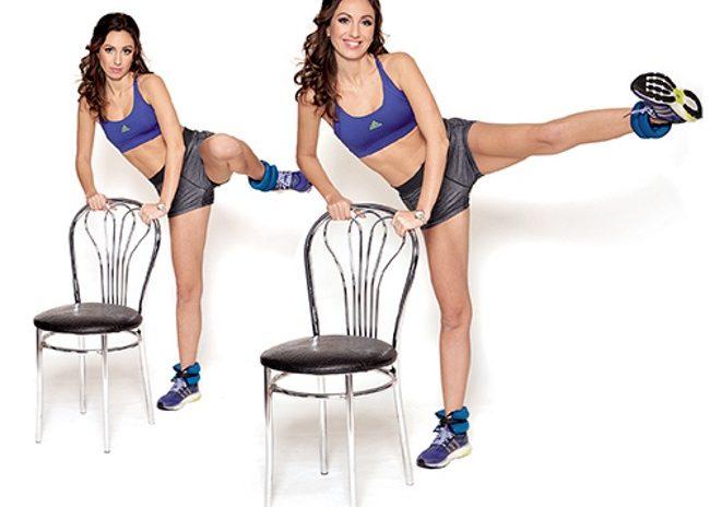 Делать упражнения для ягодичных мышц