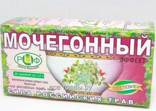Мочегонные травяные сборы