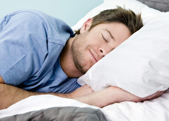 Нормализуется сон и повышается его качество