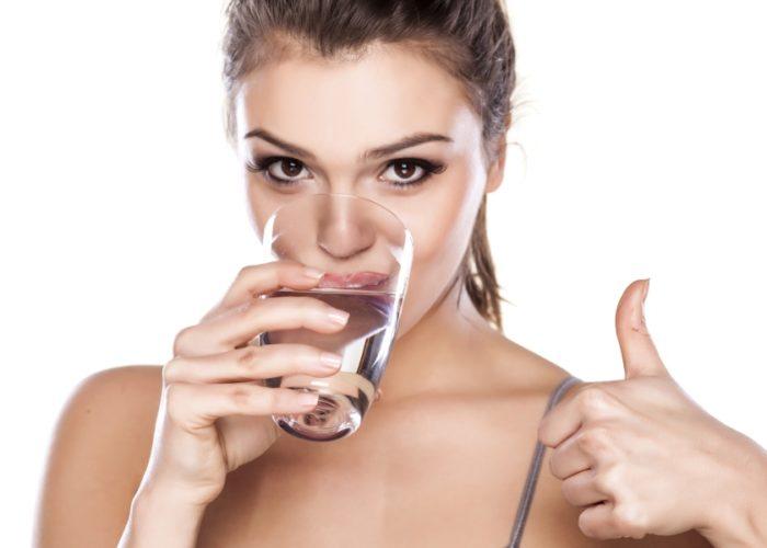Пить как можно больше воды