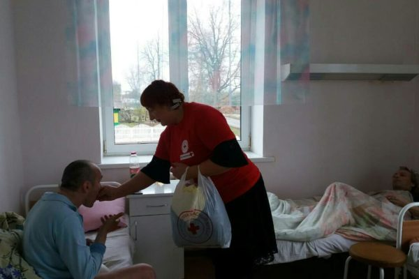 Помощь тяжелобольным людям
