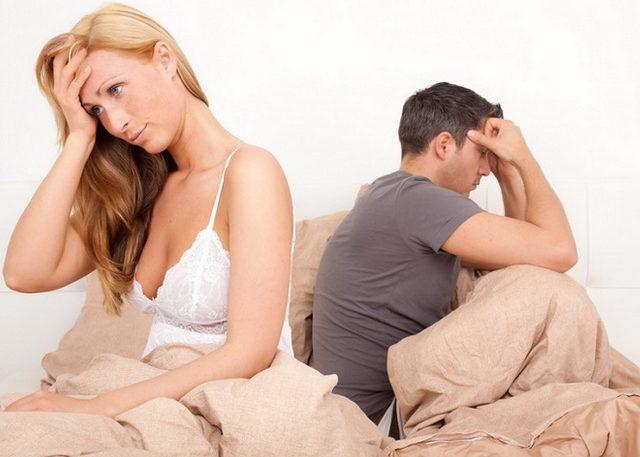 Понижение сексуальной активности