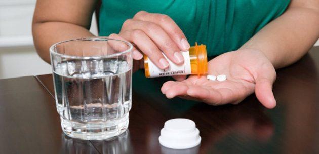 Прием таблеток можно проводить только утром