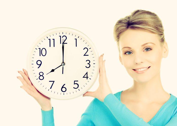Утренние часы будут легче переноситься