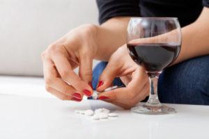 Вино и препарат