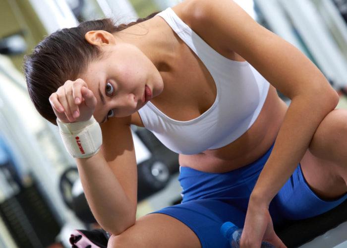 Избегать физических перегрузок