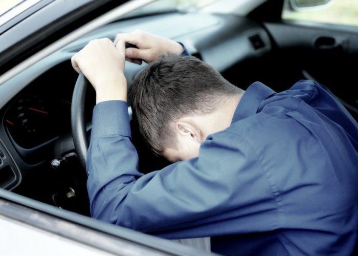 Неустойчивость позы водителя