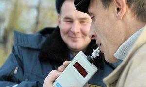 Освидетельствования с использованием алкотестера