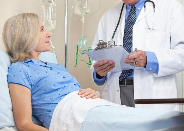 Пациент остаётся в медицинском учреждении