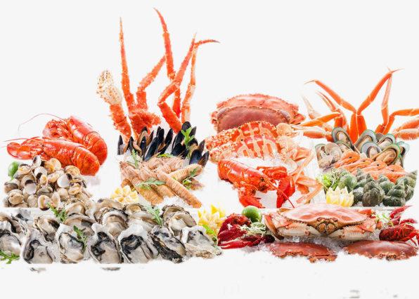 Различные морепродукты