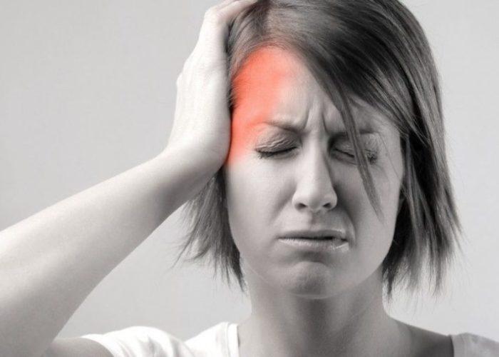 Выраженную головную боль