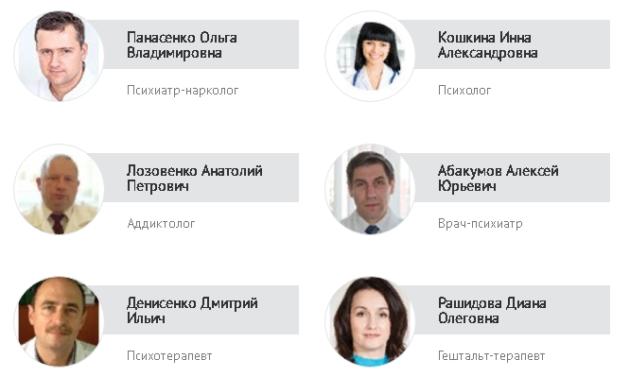 Специалисты наркологической клинике «Нижний Новгород без наркотиков»