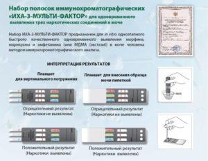 Иммунохроматографический тест на наркотики
