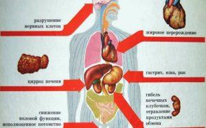 Как алкоголь разрушает организм