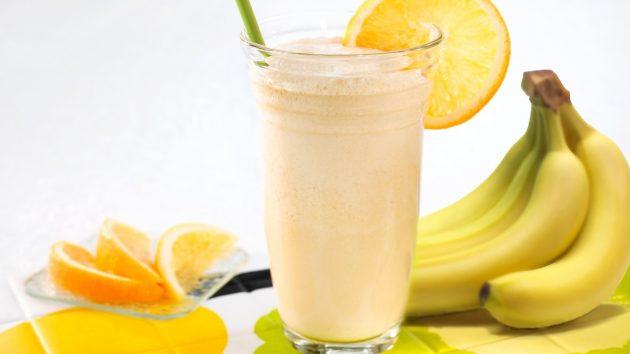 Коктейль из бананов