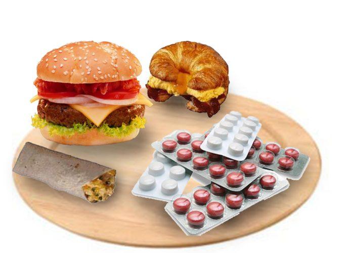 Лекарство и еда