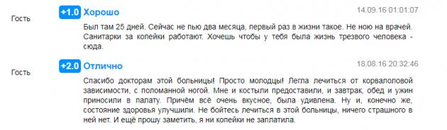 Отзвыв о клинике «Единство» в Краснодаре- prodoctorov.ru