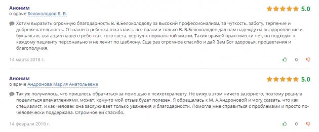 Отзвыв о клинике «Narkohelp-SPB» в Санкт-Петергурге - doctu.ru