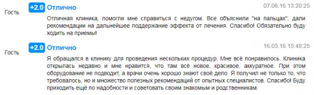 Отзвыв о клинике доктора Бучацкого в Москве - prodoctorov.ru