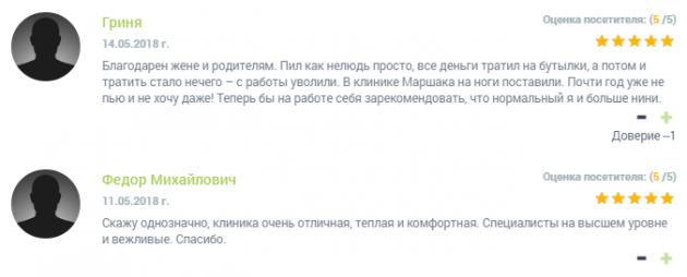 Отзвыв о нарко клиннике Чистое небо в Нижнем Новгороде - narko-kliniki.ru