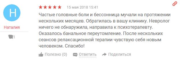 Отзвыв о наркологической клиннике Апрель в Санкт-Петербурге - yell.ru