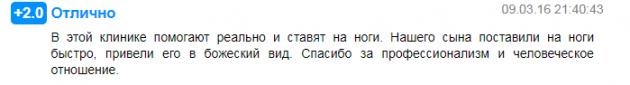 Отзвывы клента о клиннике Ариадна в Москве - prodoctorov.ru