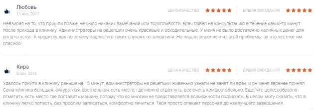 Отзвывы пациентов о клиннике Двенадцатый Шаг в Самаре - ru.doc.guru