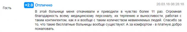 Отзыв о клинике «Нармед» в Москве - prodoctorov.ru