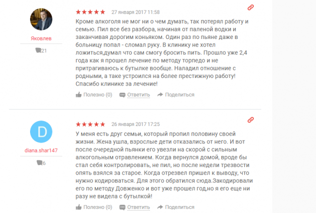 Отзыв о клинике «Нармедик» в Москве - www.yell.ru