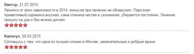 Отзыв о клинике «Преображение» в Москве - наркологические-клиники.рф