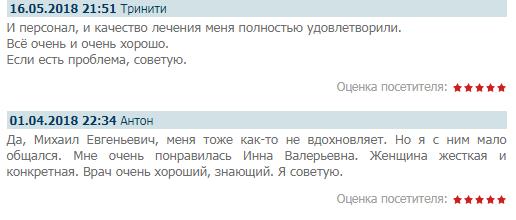 Отзыв о клинике «Преображение» в Москве - www.psysocialis.ru