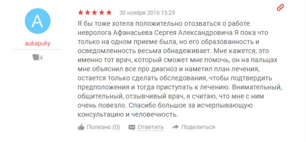 Отзыв о клинике «Преображение» в Москве -www.yell.ru