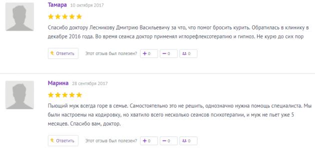 Отзыв о нарко клиннике Горизонт в Воронеже - orgpage.ru