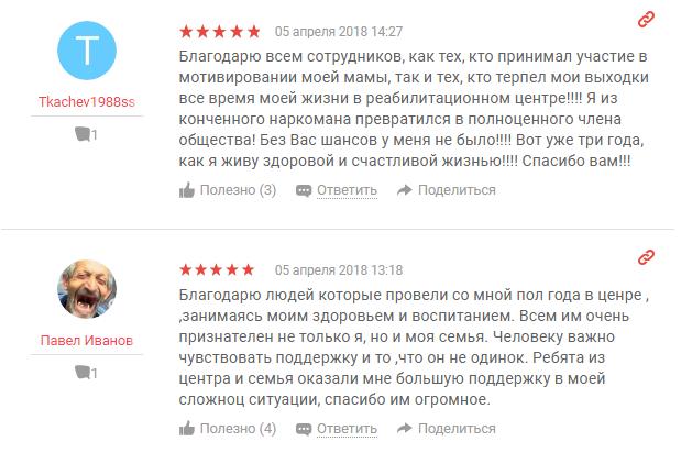 Отзыв пациента о центр Стопнарко в Санкт-Петербурге - yell.ru