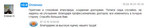 Отзыв пациента о центре Ра-Курс в Краснодаре - prodoctorov.ru