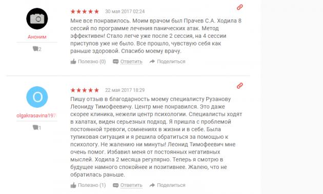Отзыв пациентов о клинике «Нижний Новгород без наркотиков» - www.yell.ru
