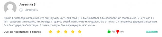 Отзывы о клинике «Решение» в Нижнем Новгороде - clinic-top.ru