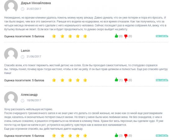 Отзывы о центр Ника в Краснодаре - clinic-top.ru