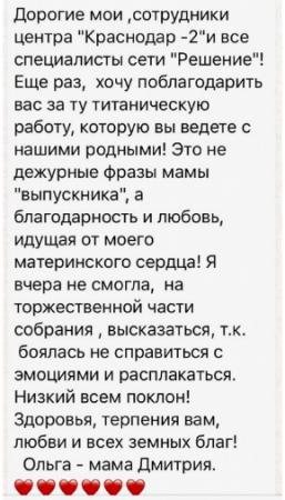 Отзывы о центре Решение в Краснодаре - reshenie-krasnodar.ru