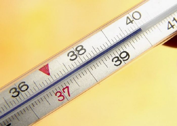 Повышенная температура до 40ºC
