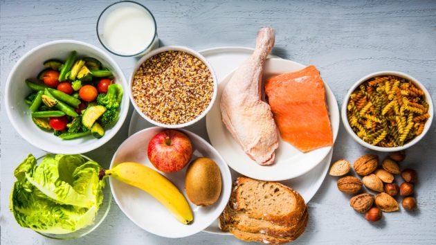 Продукты содержащие витамин В, Е, А