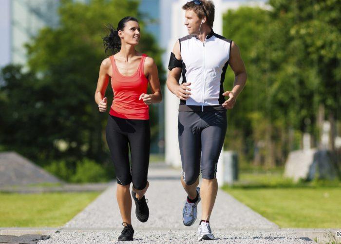 Прогулка на свежем воздухе и занятия спортом